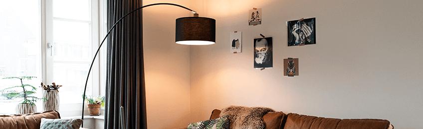 Lampy w kształcie łuku