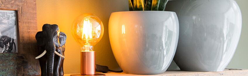 Lampy stołowe LED