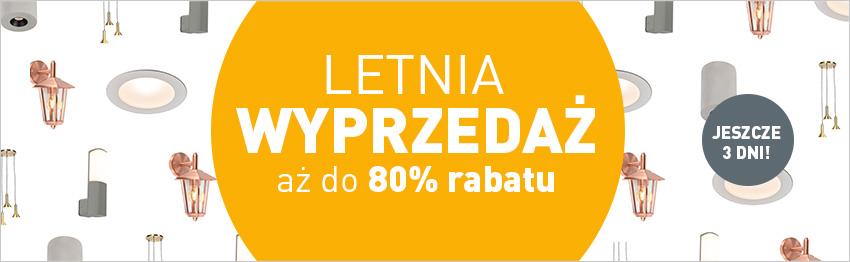 Letnia wyprzedaż na lampyiswiatlo.pl!