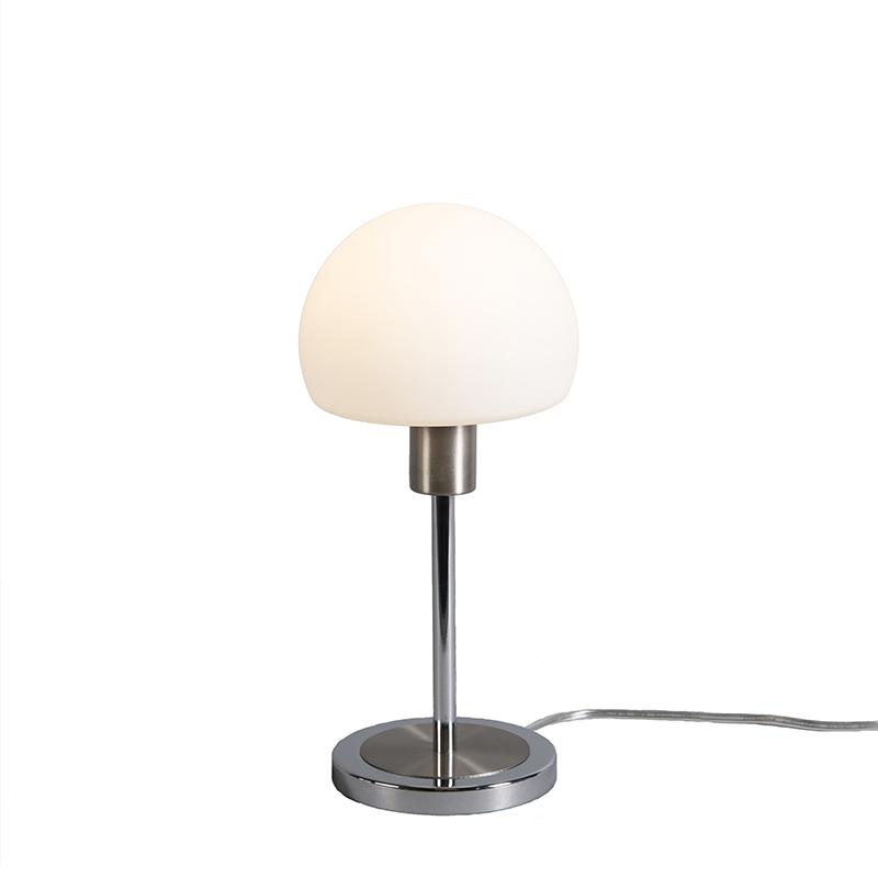 Lampa stołowa Bauhaus LED stal