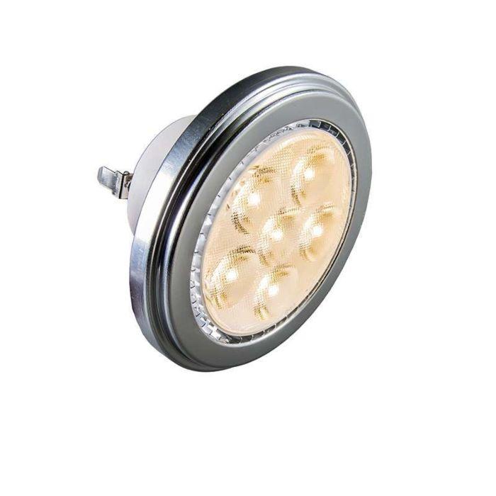 LEDspot-G53-AR111-6x2W-3000K-600lm