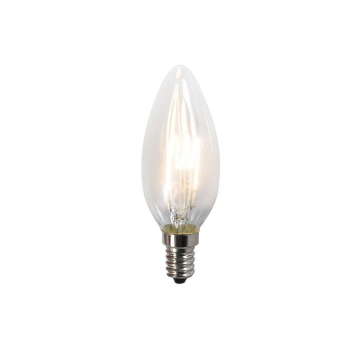 Żarówka-filament-LED-spiralny-żarnik-C35-2W-2200K-przezroczysta