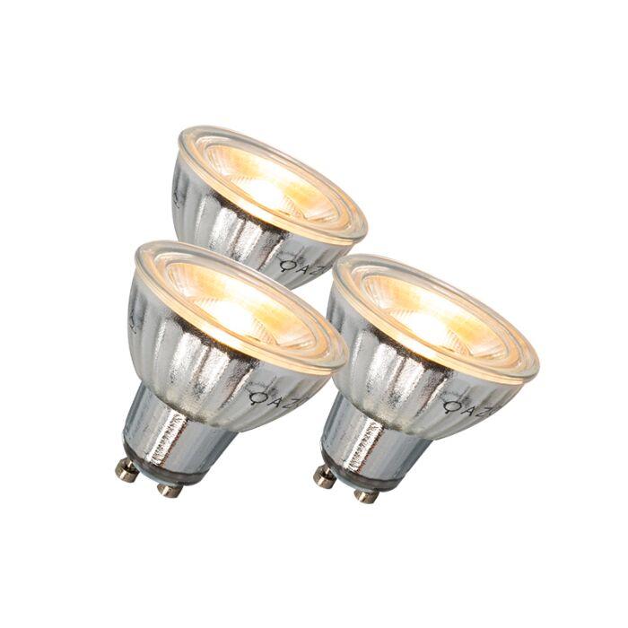 Zestaw-3-żarówek-LED-GU10-7W-500LM-3000K-ściemniane