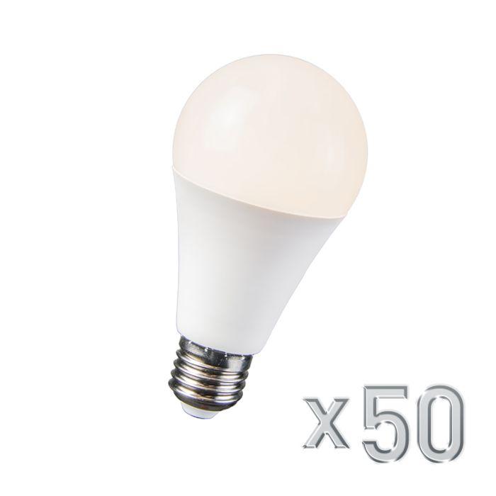 Zestaw-50-żarówek-LED-10W-E27-B60-WW