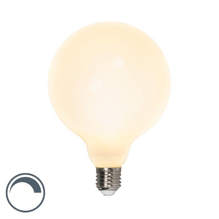 Żarówka-LED-E27-G125-8W-900lm-2700K-ściemnialna