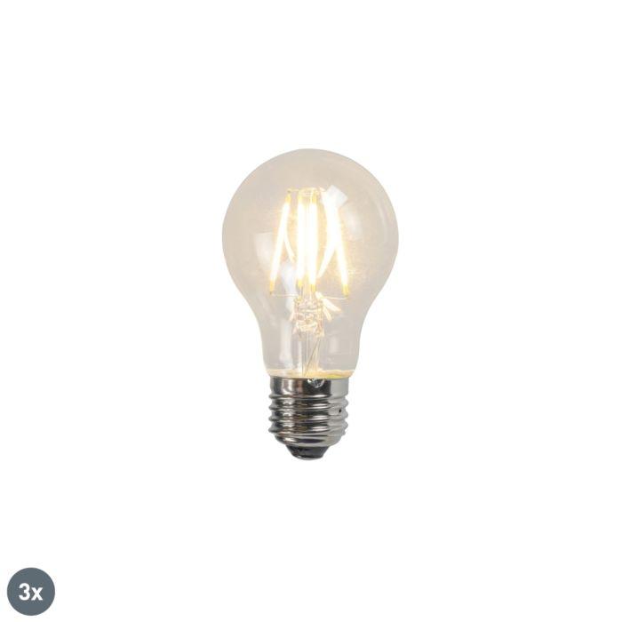 Zestaw-3-x-żarówka-LED-E27-A60-4W-2700K-przezroczysta-filament