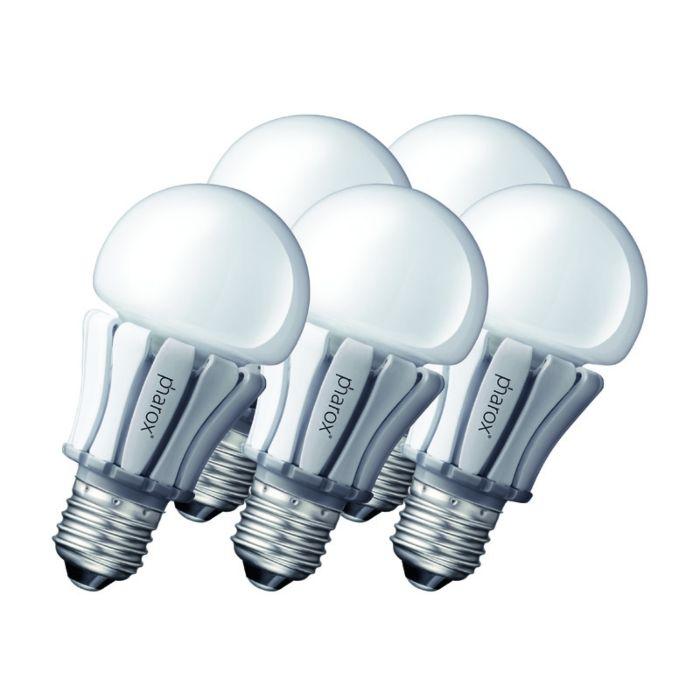 Zestaw-5-żarówek-Pharox-LED-lamp-400-E27-8W-230V