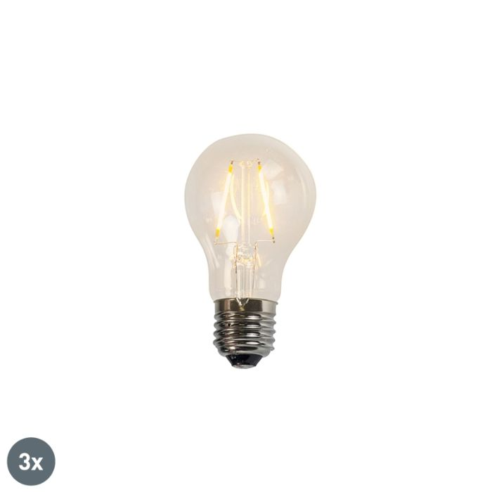 Zestaw-3-x-żarówka-LED-E27-A60-2W-2200K-filament-przezroczysta