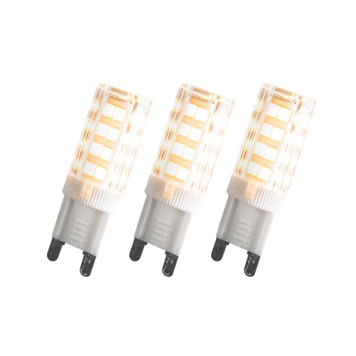 Zestaw-3-żarówek-LED-G9-3.3W-280-lumenów