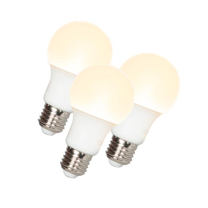 Zestaw-3-żarówek-LED-A60-E27-9W-3000K