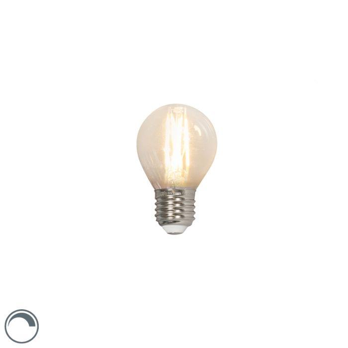 Żarówka-kulka-LED-E27-P45-3.5W-350lm-2700K-filament-ściemnialna