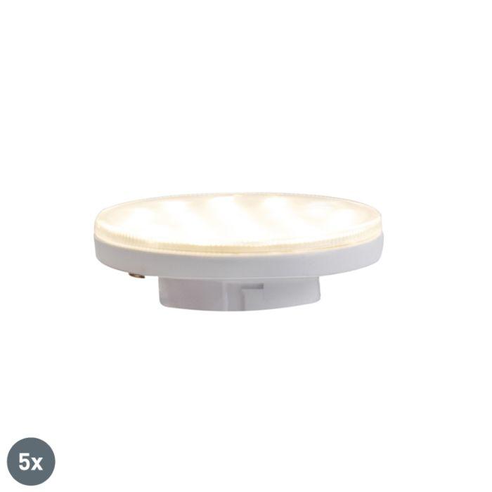 Zestaw-5-3-stopniowych-ściemnianych-lamp-LED-GX53-3W-350-lm-3000K
