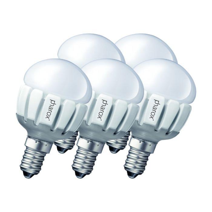 Zestaw-5-żarówek-Pharox-LED-200-P45-E14-5W-230V