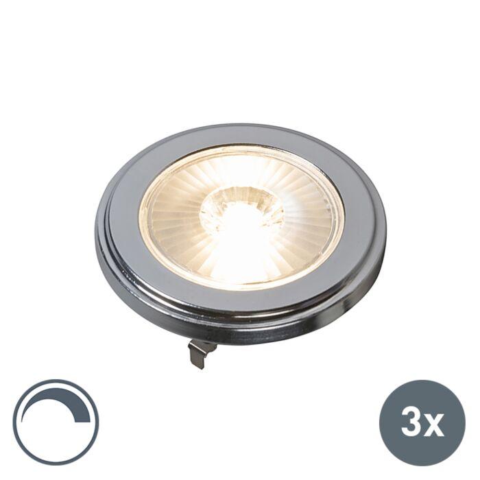 Zestaw-3-x-żarówka-AR111-LED-G53-10W-800LM-3000K-ściemnialna