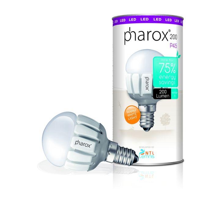 Żarówka-Pharox-LED-200-lumenów-P45-E14-230V