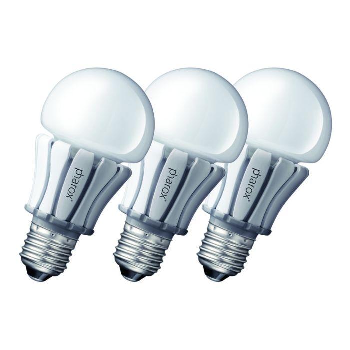 Zestaw-3-żarówek-Pharox-LED-lamp-400-E27-8W-230V