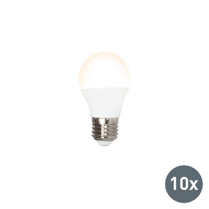 Zestaw-10-żarówek-LED-G45-E27-5W-3000K