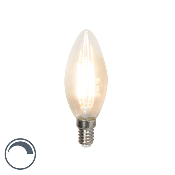 Żarówka-świeczka-LED-E14-filament-B35-3.5W-350lm-2700K-ściemnialna