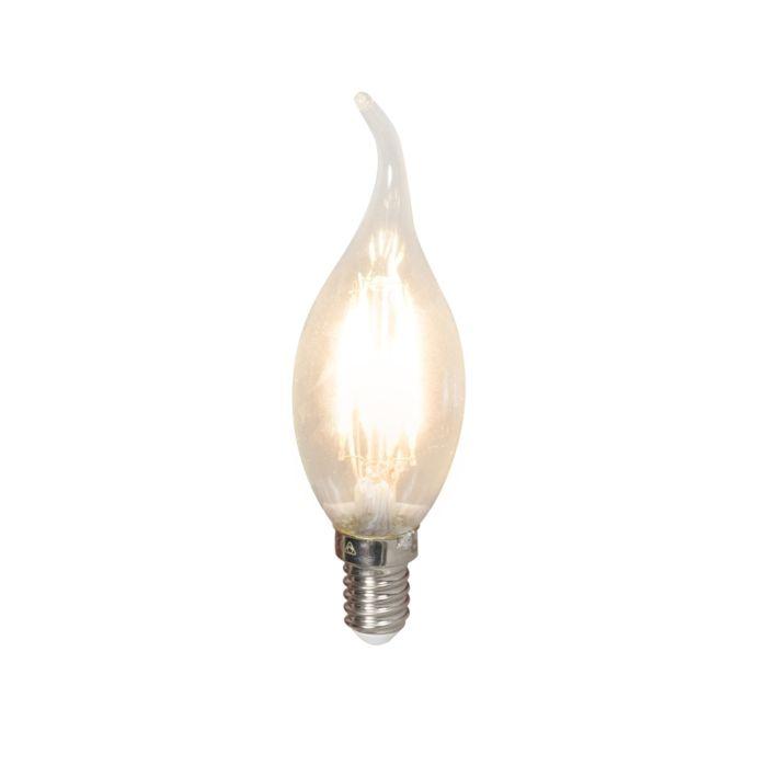 Żarówka-LED-świeczka-E14-240V-3,5W-350lm-BXS35-ściemniana