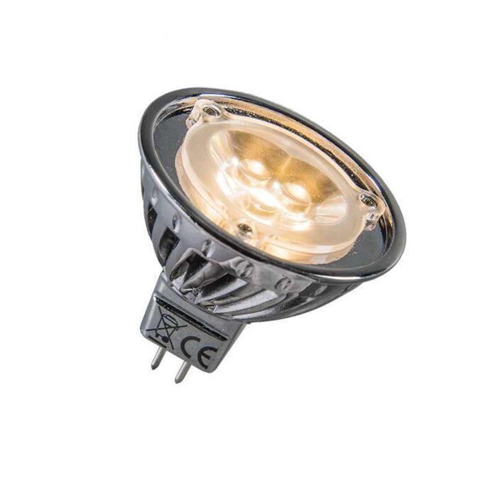 Power-LED-MR16-3x1W=ok.30W-12V-ciepło-biała