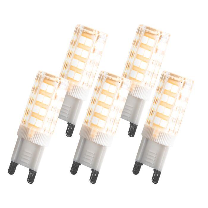 Zestaw-5-żarówek-LED-G9-3.3W-280-lumenów