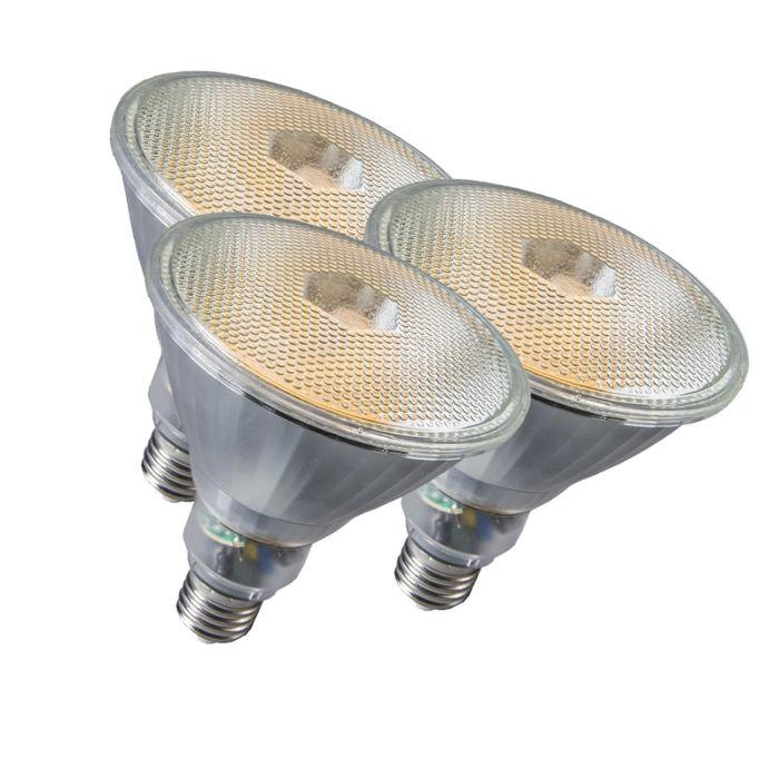 Zestaw-3-świetlówek-Par38-E27-20W-800LM-2700K