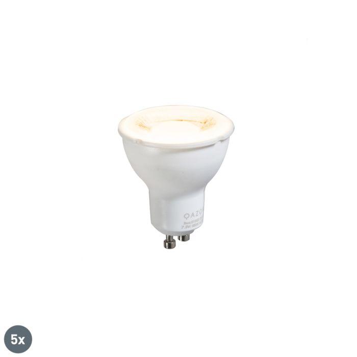 Zestaw-5-x-żarówka-LED-GU10-LED-7W-700-lm-3000K