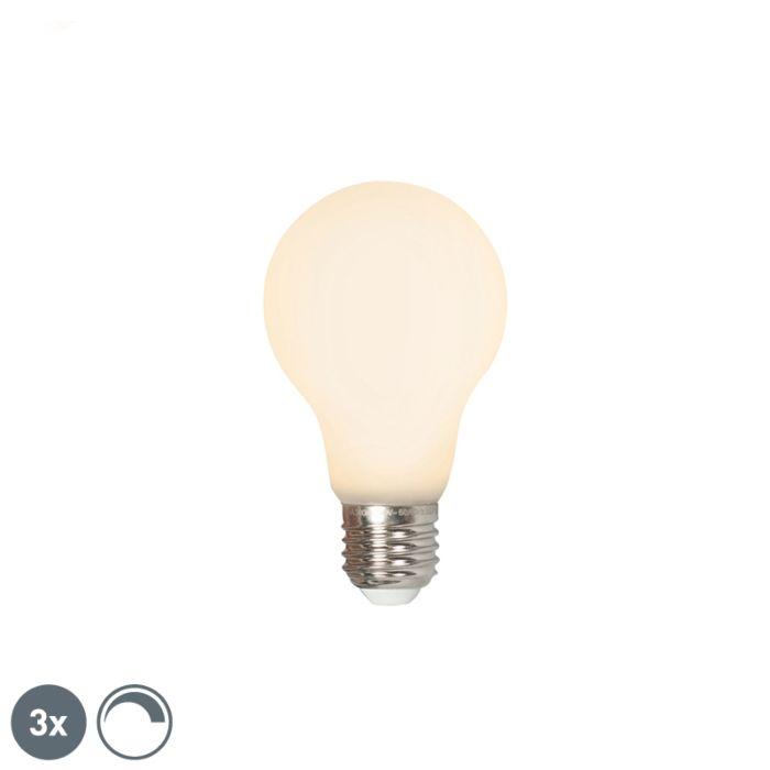 Zestaw-3-x-żarówka-LED-E27-A60-4W-380lm-2700K-ściemnialna