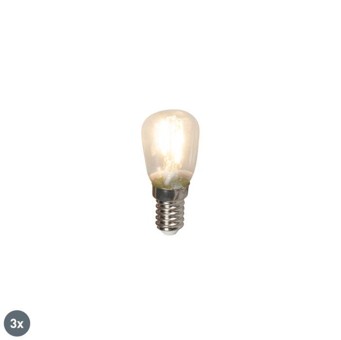 Zestaw-3-x-żarówka-LED-E14-T26-1W-100lm-2700K