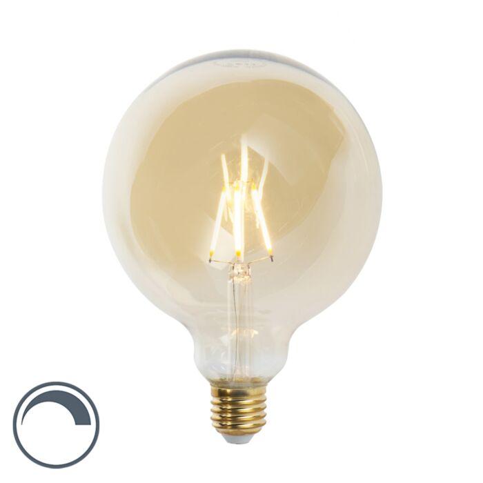 Ściemnialna-żarówka-LED-E27-G125-goldline-360-lumenów-2200-K.