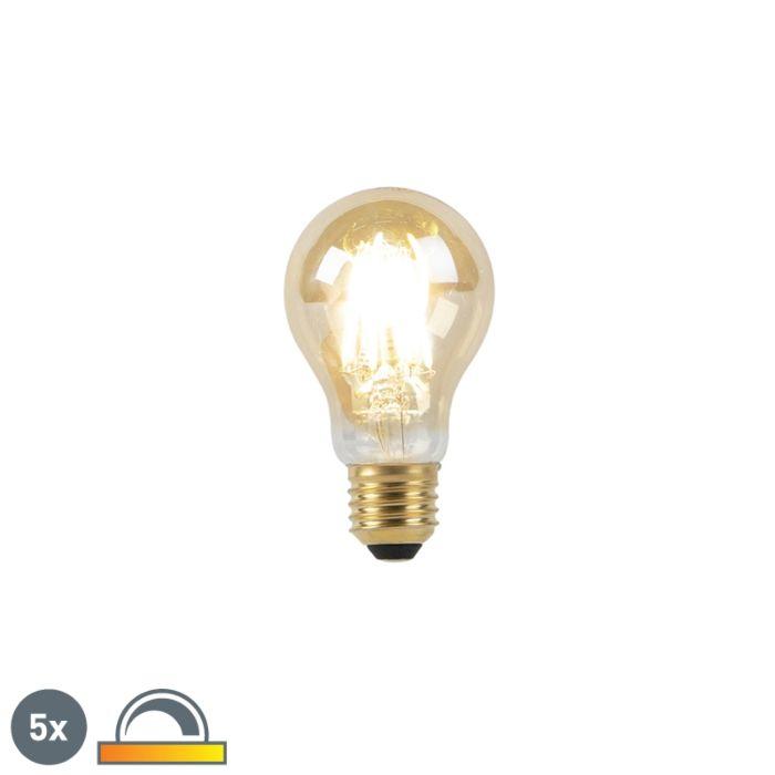 Zestaw-5-żarówek-LED-filament-E27-8W-2000-2600K-ściemnialna-regulowana-barwa-światła-