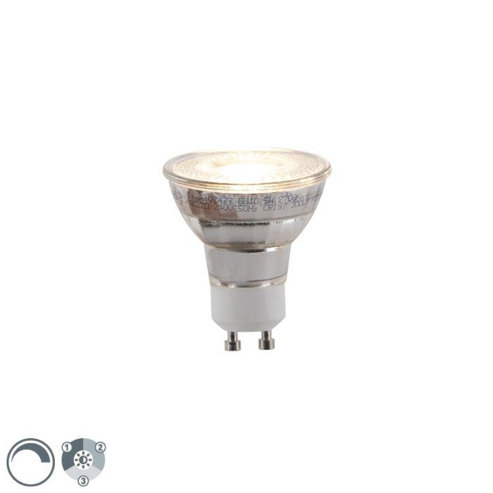 Żarówka-LED-GU10-5W-300lm-3-stopniowe-ściemnianie