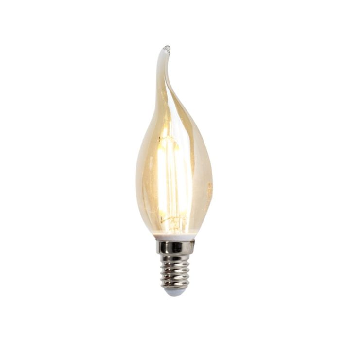 LED-filament-świeczka-E14-4W-350-lumen-ciepło-biała-2200K
