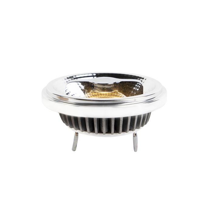 Żarówka-LED-AR111-G53-12W-600lm-2700K-ściemnialna