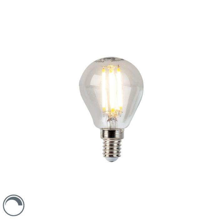Żarówka-LED-E14-filament-kulka-5W-470lm-2700K-ściemnialna