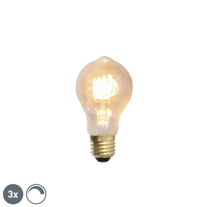 Zestaw-3-x-żarówka-LED-E27-filament-4W-200lm-2100K-ściemnialna
