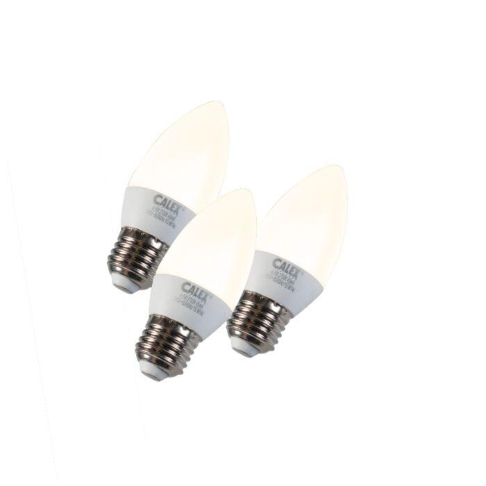 Zestaw-3-żarówek-LED-E27-5W-240V-2700K-ściemniana