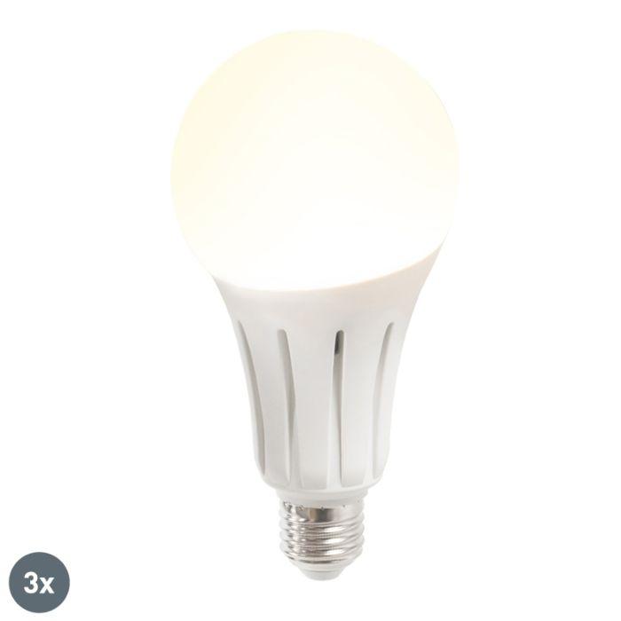 Zestaw-3-żarówek-LED-B60-18W-E27-ciepło-biała