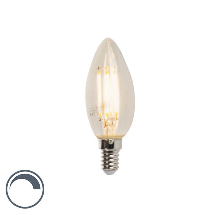 Żarówka-świeczka-LED-E14-B35-5W-470lm-2700K-ściemnialna