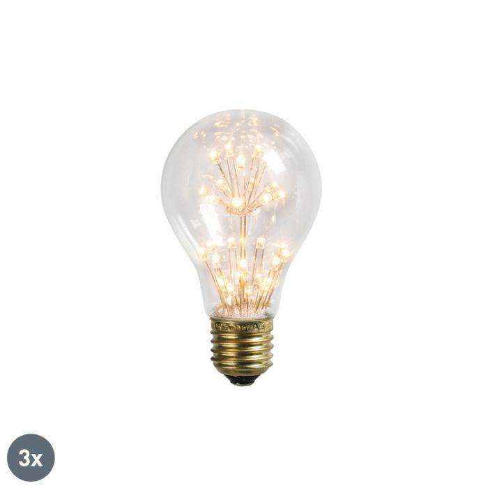 Zestaw-3-x-żarówka-LED-E27-A60-1.4W-136lm-2100K