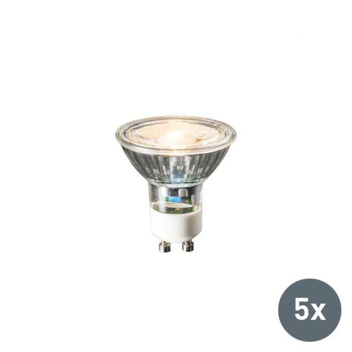Zestaw-3-żarówek-GU10-LED-240V-3W-230lm-ciepłobiała