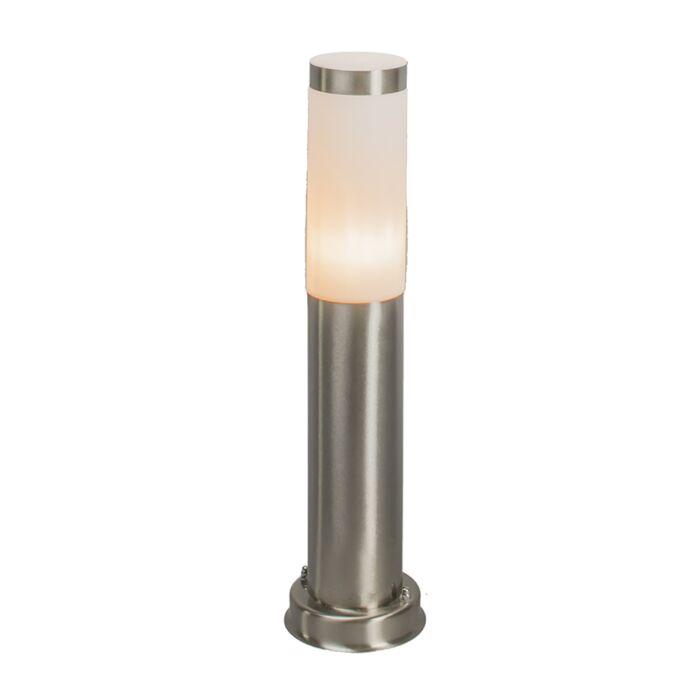 Nowoczesna-lampa-zewnętrzna-stal-45cm-IP44---Rox
