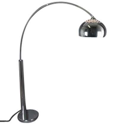 Lampa-podłogowa-łuk-chrom-klosz-z-chromu