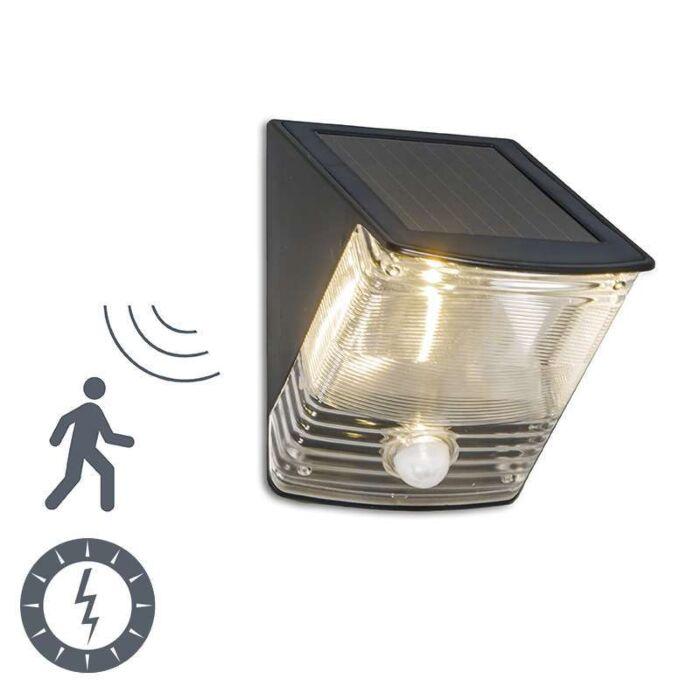 Lampa-zewnętrzna-Dark-LED-na-energię-słoneczną-z-czujnikiem-ruchu