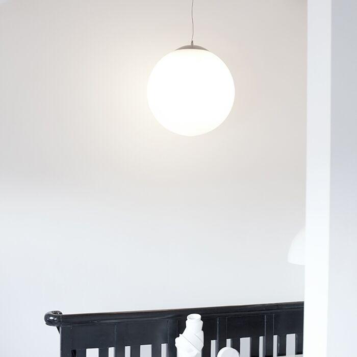 Nowoczesna-lampa-wisząca-matowe-szkło-50cm---Ball