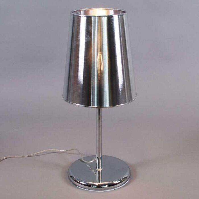 Lampa-stołowa-Miracle-60-srebrna