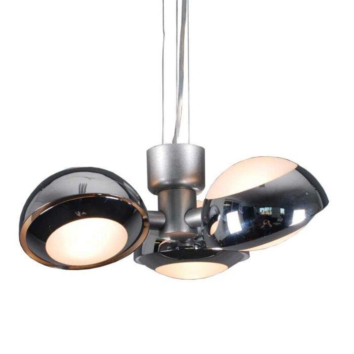 Lampa-wisząca-Curio-3-chrom