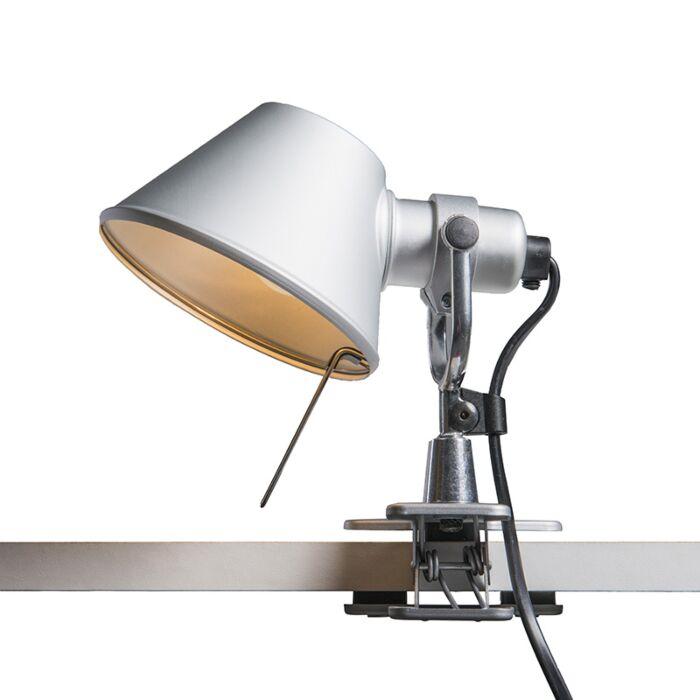 Lampa-stołowa-regulowana---Artemide-Tolomeo-Micro-Pinza