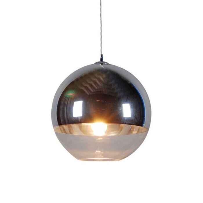 Lampa-wisząca-Ball-40-srebrna