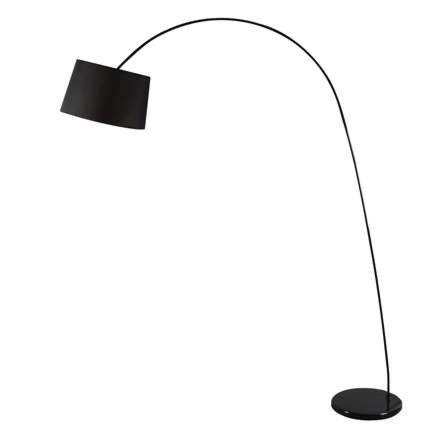 Lampa-podłogowa-łuk-Easy-czarna